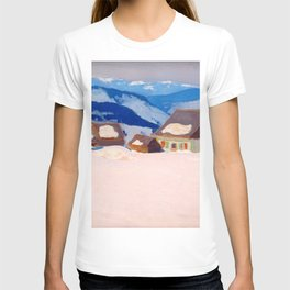 Clarence Gagnon - Laurentian Homestead - Ferme du rang St. Antoine, Baie St. Paul T-shirt