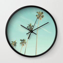 Palm Trees 2 Wall Clock