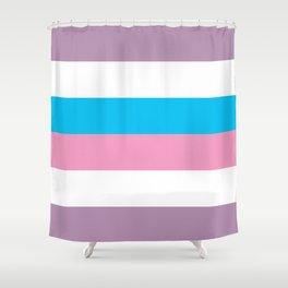 Intersex Flag v1 Shower Curtain
