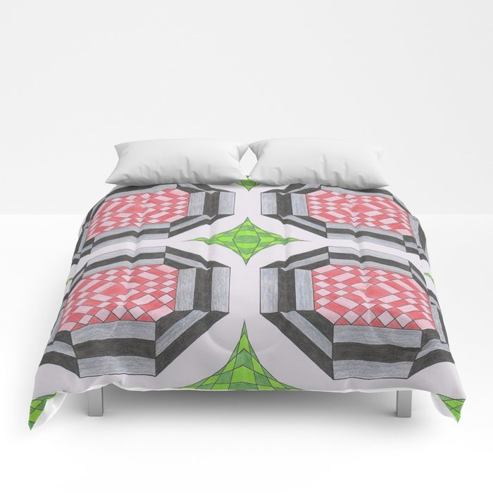 More haste less speed two Comforters
