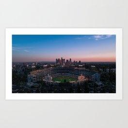 Dodger Stadium Kunstdrucke