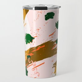 Textile 2 - paintier Travel Mug
