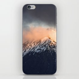 Steamy Mountain iPhone Skin