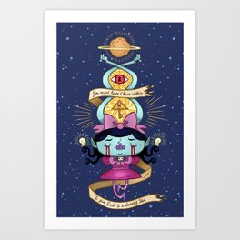Proto Star Art Print
