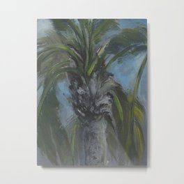 Blessed Shade-Palm Tree AC150603a Metal Print