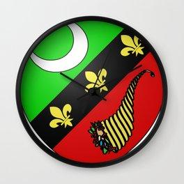 Saïda_Coat of Arms_(French_Algeria) Wall Clock