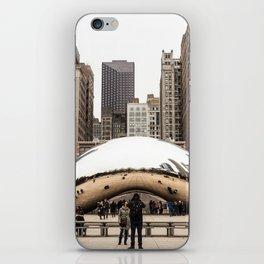 Cloud Gate / The Bean Chicago iPhone Skin