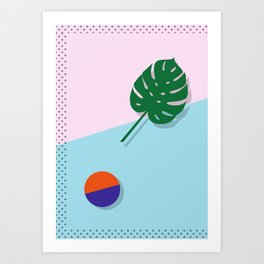 Geometric Calendar - Day 27 Art Print