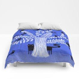 BLACK FLOCK Comforters