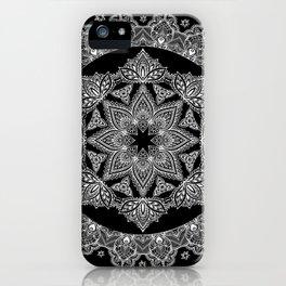 Lotus Dreams Mandala iPhone Case