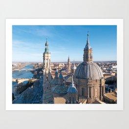Zargoza, Spain Photograpy Art Print
