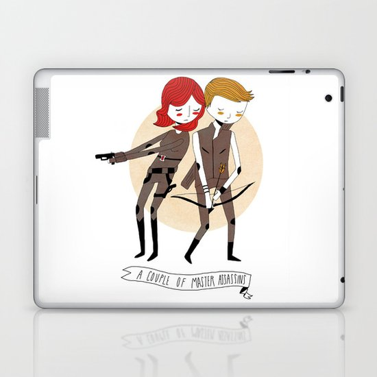 A Couple of Master Assassins Laptop & iPad Skin