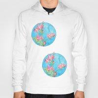 cherry blossom Hoodies featuring Cherry Blossom by Tatevik Sayadyan