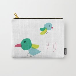Bird and japanese 'tori' Carry-All Pouch