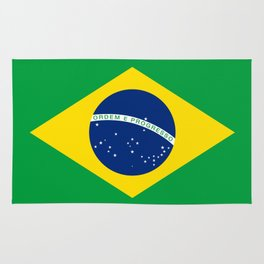 Flag of Brazil - Hi Quality Authentic version Rug