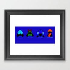 The Evils Framed Art Print