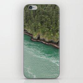 Water Meets Woods iPhone Skin