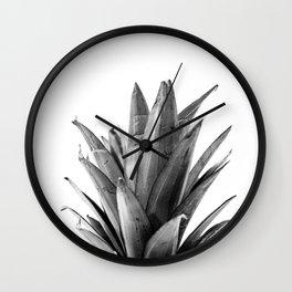 Pineapple Head Wall Clock