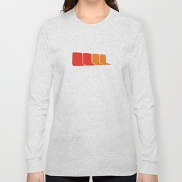 4 Seats on the 1 Long Sleeve T-shirt