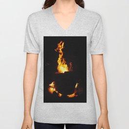 Fire Unisex V-Neck