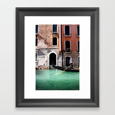Row Rider Framed Art Print