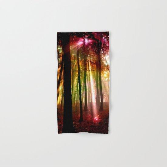 Light beams Hand & Bath Towel