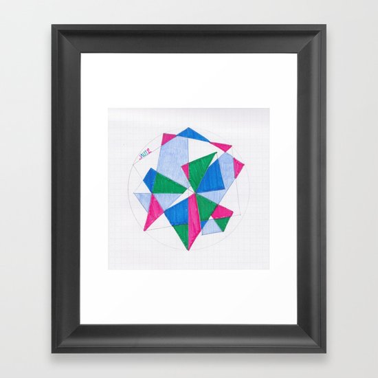Kite-Netic #2 Framed Art Print