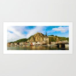 Dinant Cityscape 1 Art Print