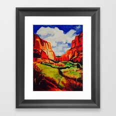 Sedona, Arizona Framed Art Print