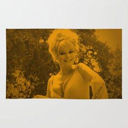 Elke Sommer - Celebrity Rug