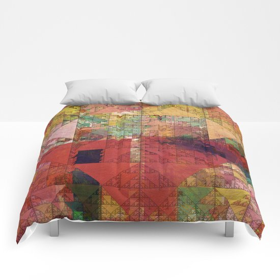 Aztec Vintage Pattern 09 Comforters