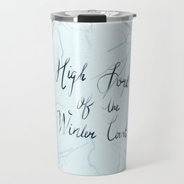 High Lord of the Winter Court Travel Mug