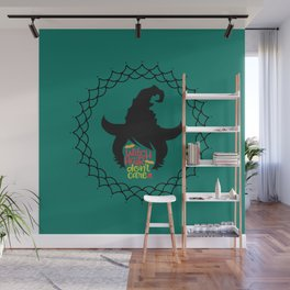 Witch Hair Don't Care-Teal Wall Mural