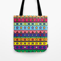 doodle Tote Bags featuring Doodle by Kat Mun