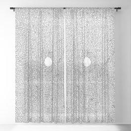 Turbulence 9 Sheer Curtain