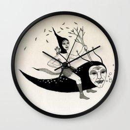 Joyous Flight Wall Clock