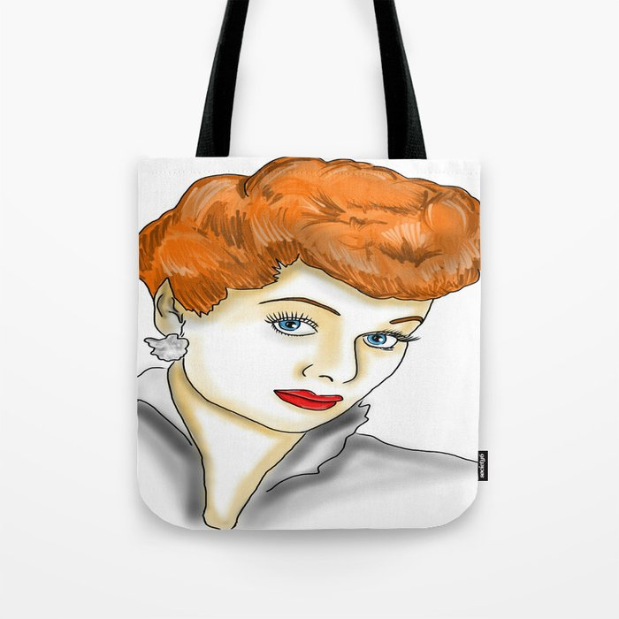I love Lucy (Lucille Ball) Tote Bag