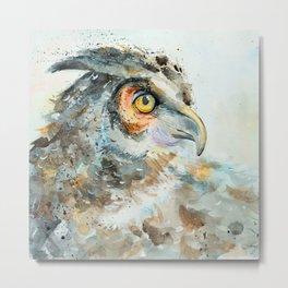 Predatory bird Metal Print