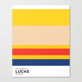 The Colors of Lucas Canvas Print