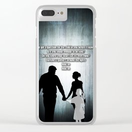 u2's there is a light Clear iPhone Case