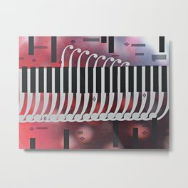 symphony for piano Metal Print