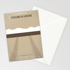 No189 My Thelma and Louise minimal movie poster Stationery Cards