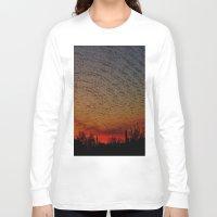 desert Long Sleeve T-shirts featuring Desert by RingWaveArt