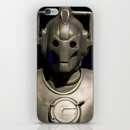 Cyberman From Doctor Who iPhone Skin