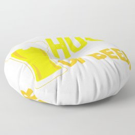 I Need a Huge Glass of Beer Brewing Drinking Floor Pillow
