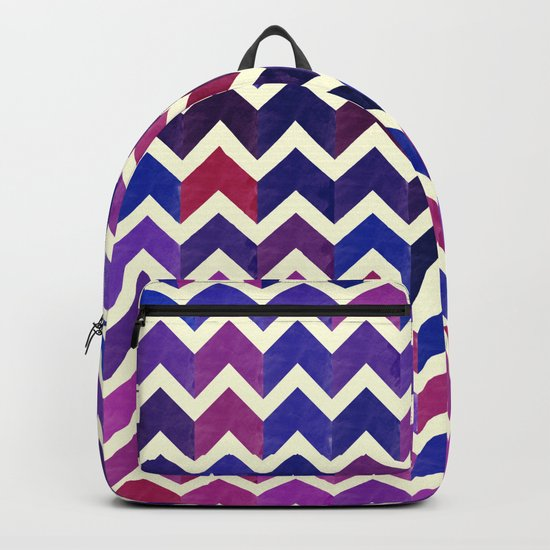 Colorful Chevron Pattern II Backpack