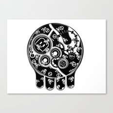 Time Bomb (Inverted) Canvas Print