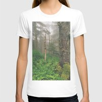 forrest T-shirts featuring Foggy Forrest by Donovan Bennett Designs
