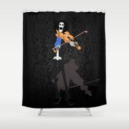 Music Skull Shower Curtain