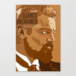 Quentin Tarantino's Plot Movers :: Django Unchained Canvas Print